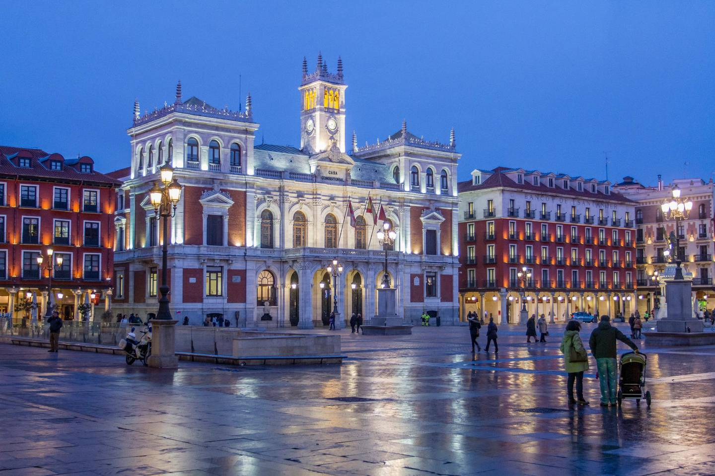 Plaza Mayor (Main Square) with the Town Hall in Valladolid. Getty Images