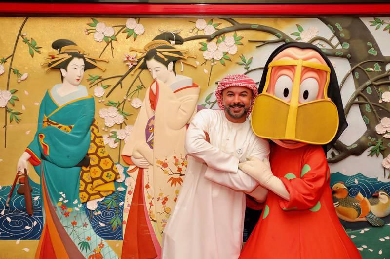 Mohammed Saeed Harib in Tokyo, Japan. Photo by Atsushi Fujimoto