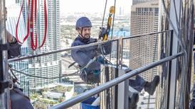 'Big' in Dubai: ex-'Top Gear' presenter Richard Hammond hangs off Burj Khalifa in new TV show