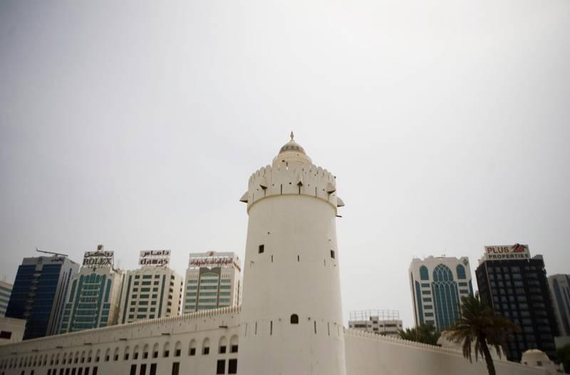 Abu Dhabi - August 2, 2008: Al Hosin Fort in downtown Abu Dhabi. Lauren Lancaster / The National  *** Local Caption ***  LL_02.08.08-ad fort019.jpgLL_02.08.08-ad fort019.jpg Al Hosn FortQasr al Hosn