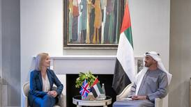 Sheikh Mohamed bin Zayed and UK Foreign Secretary review bilateral ties