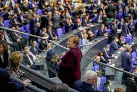 Merkel a spectator as German Parliament enters new era