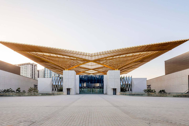 The main station at Dubai Expo 2020. Photo: Dubai Expo