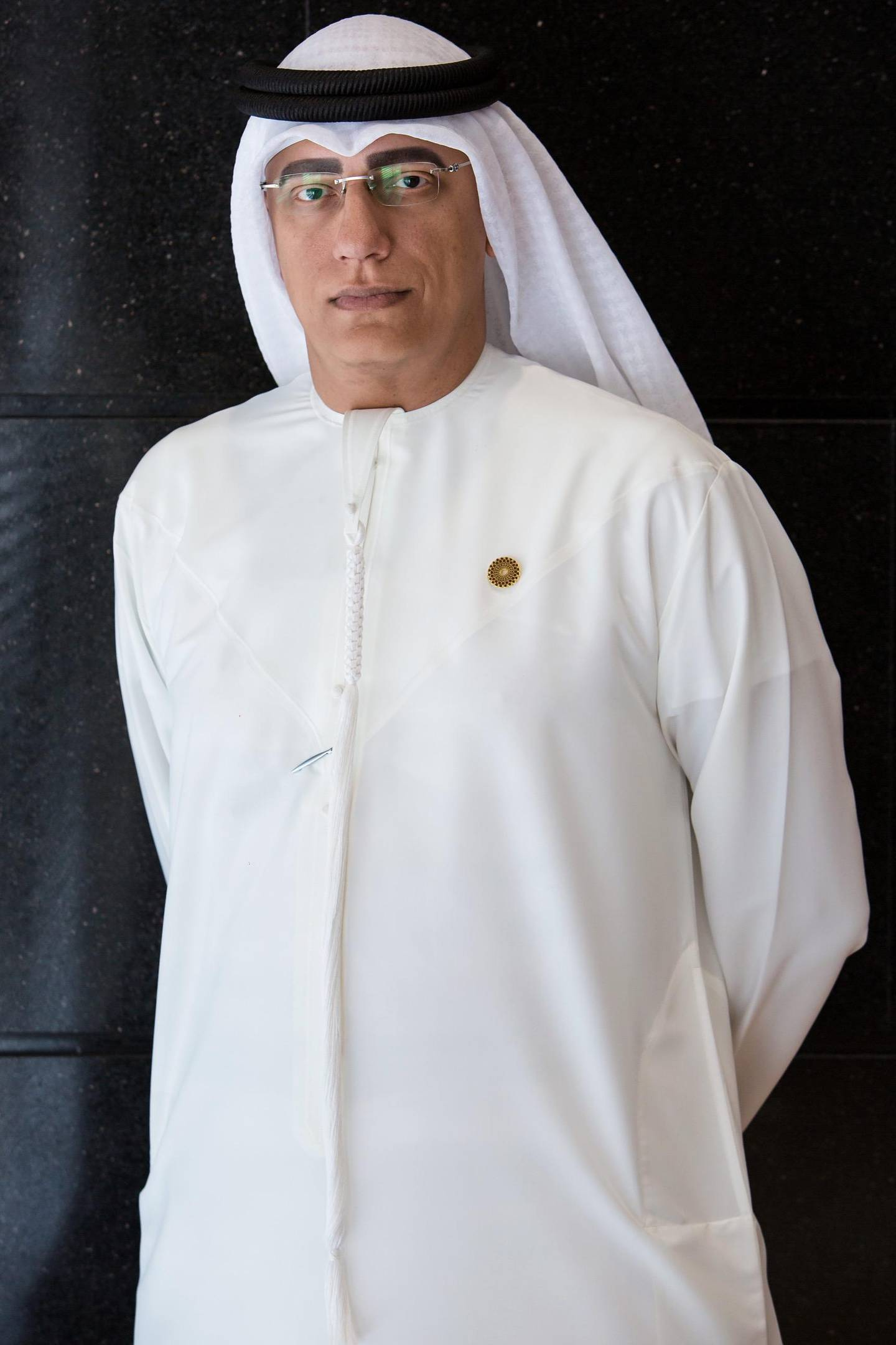 Ahmed Al Khatib, (Senior VP, Expo 2020 Dubai) ,Leaders in Construction UAE , Godolphin Ballroom, Jumeirah Emirates Towers, Financial Centre 2 ,Dubai, United Arab Emirates, 19/09/2017Photo by Fritz John Asuro/ITP Images