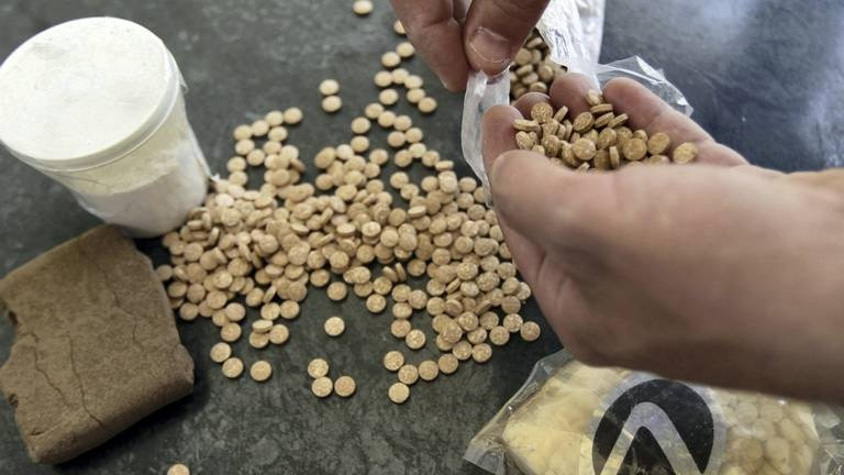 An image that illustrates this article Rising Captagon production in Lebanon and Syria prompts UN investigation call