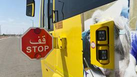 Cameras installed on Abu Dhabi school buses to catch drivers who ignore stop signs