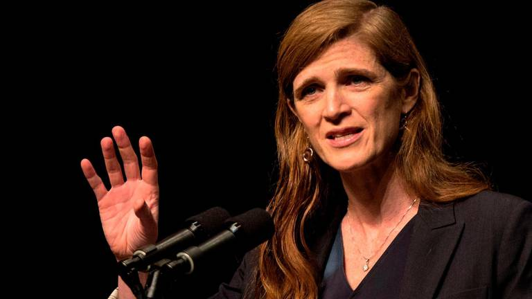 An image that illustrates this article Who is Samantha Power, Biden's nominee to reinvigorate US foreign aid?
