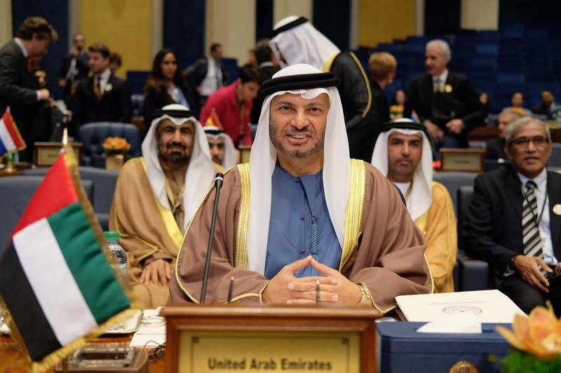 KUWAIT, 13th February, 2018 (WAM) -- Dr. Anwar Gargash, Minister of State for Foreign Affairs, has led the UAE delegation to the ministerial meeting of the International Coalition against Daesh in Kuwait, which reviewed the great success of the international coalition in defeating and reducing the presence of the terrorist group. Wam