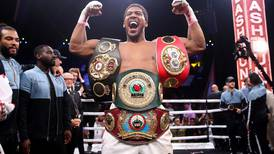Anthony Joshua vows to do 'everything in my power' to fight Tyson Fury