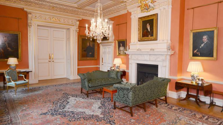 An image that illustrates this article Story behind the Terracotta Room at Downing Street