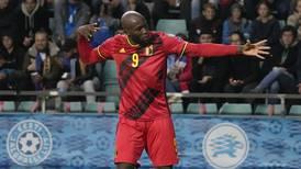 Chelsea's Romelu Lukaku scores twice to lead Belgium past Estonia in World Cup qualifying