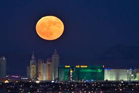 Where and when to watch October's Hunter's Moon in the UAE