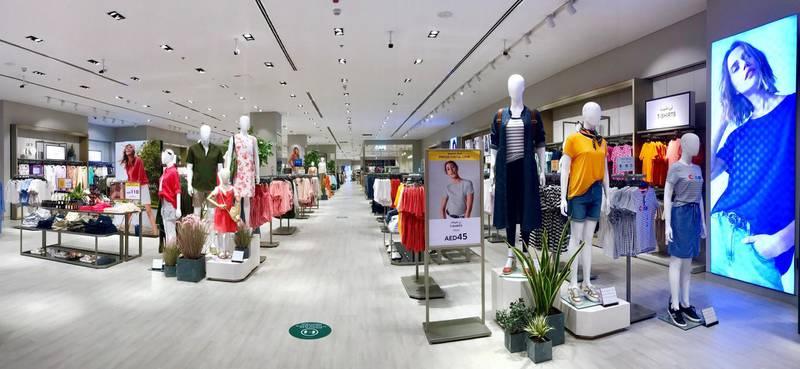 New M&S store at Dubai Mall