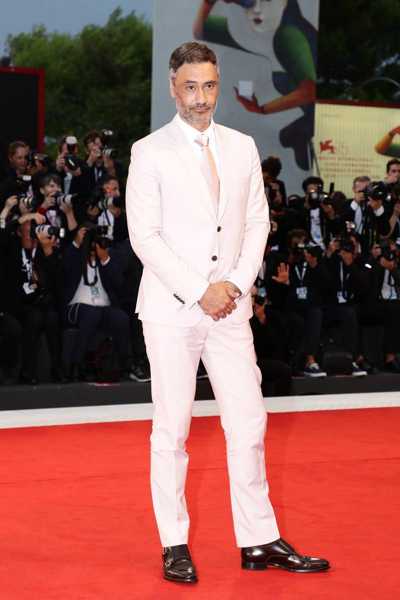 VENICE, ITALY - SEPTEMBER 01:  Official competition jury member Taika Waititi walks the red carpet ahead of the 'Suspiria' screening during the 75th Venice Film Festival at Sala Grande on September 1, 2018 in Venice, Italy.  (Photo by Vittorio Zunino Celotto/Getty Images)