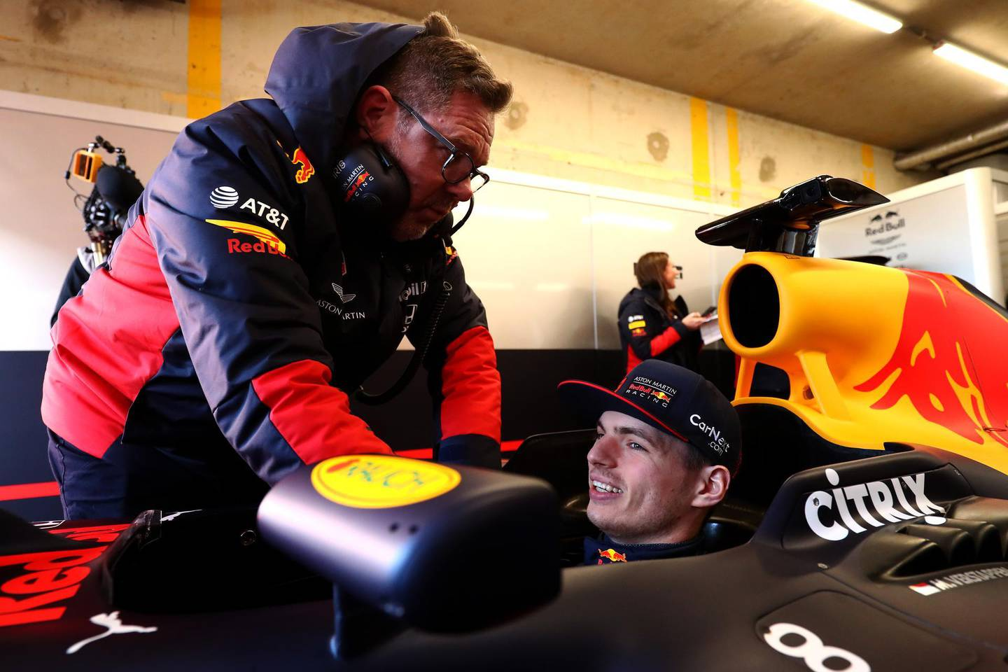 ZANDVOORT, NETHERLANDS - MARCH 04:  Max Verstappen of Red Bull Racing is pictured as he drives the first laps at the official opening for the upcoming F1 or Formula One race which will be held at Circuit Zandvoort on March 04, 2020 in Zandvoort, Netherlands. (Photo by Dean Mouhtaropoulos/Getty Images for Red Bull Racing)