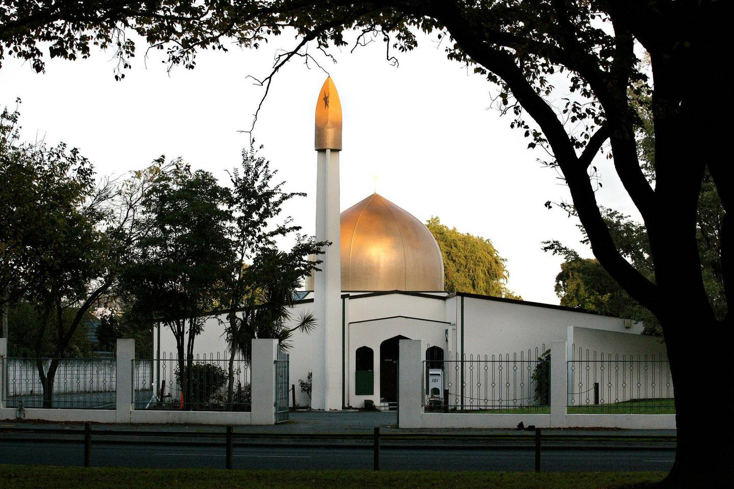 A view of the Al Noor Mosque on Deans Avenue in Christchurch, New Zealand, taken in 2014.  REUTERS/SNPA/Martin Hunter   ATTENTION EDITORS - NO RESALES. NO ARCHIVES