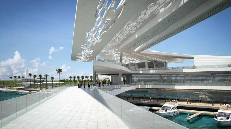 Al Qana - Block B2. Courtesy Department of Urban Planning and Municipalities and Al Barakah International Investment