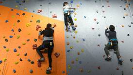 Clymb Abu Dhabi: how I challenged myself and my sons to face fears by wall climbing and indoor skydiving