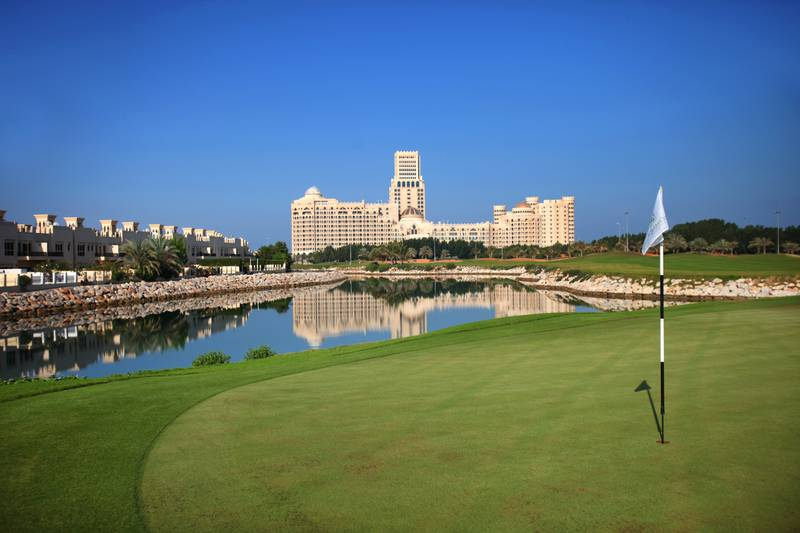 A handout photo of the 3rd hole of Al Hamra Golf Club in Ras Al Khaimah (Courtesy: Al Hamra Golf Club)
