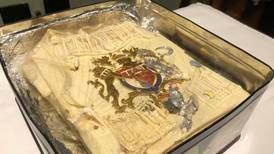 Slice of Prince Charles and Princess Diana's 1981 wedding cake sells for £1,850