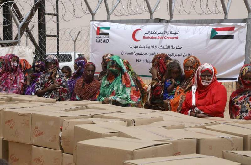 The UAE today sent an aid plane containing 50 metric tons of food to Sudan as part of its humanitarian initiatives during the Holy Month of Ramadan to meet the needs of thousands of families with limited income. This comes against the backdrop of ongoing efforts to assist those affected by the COVID-19 pandemic. WAM