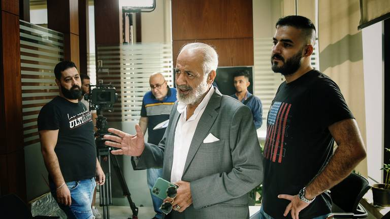 An image that illustrates this article Ayman Zeidan to star in first Syrian private-sector film in years