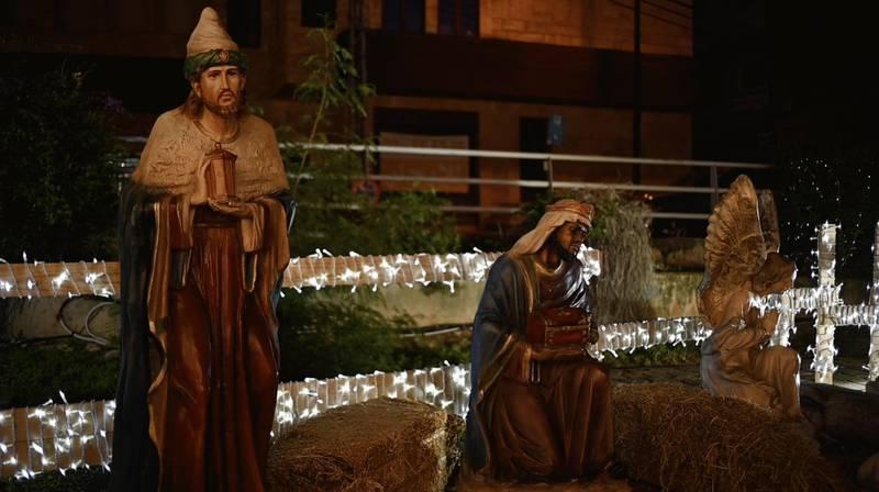 Christmas in Lebanon. Finbar Anderson/ The National
