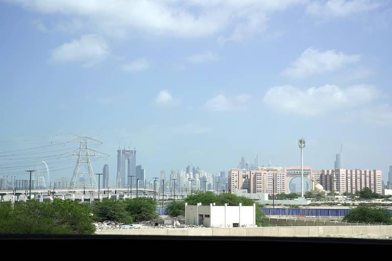 Dubai, United Arab Emirates, March 4, 2020.Standalone:Sunnyu skies but dusty weather at Dubai.Victor Besa / The NationalSection:  NAReporter: