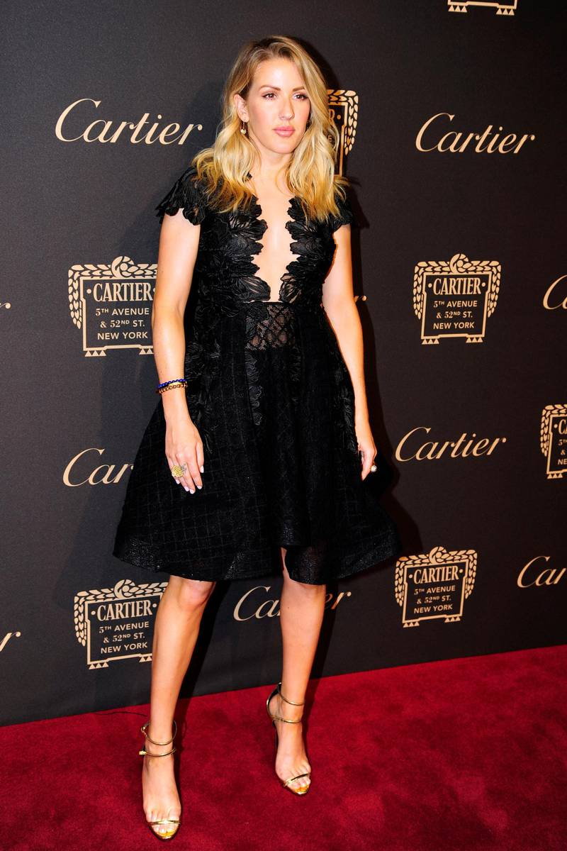 NEW YORK, NY - SEMPTEMBER 7: Ellie Goulding attends the Cartier Fetes the Grand Opening of The Fifth Avenue Mansion at Cartier Mansion on SEPTEMBER 7, 2016 in New York City. (Photo by Paul Bruinooge/Patrick McMullan via Getty Images)
