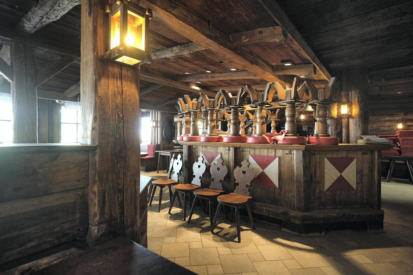 ISCHGL, AUSTRIA - SEPTEMBER 11: The Kitzloch apres-ski bar and restaurant stands closed for the summer on September 11, 2020 in Ischgl, Austria. Ischgl became a superspreader locality for coronavirus infections among winter vacationers last March and authorities have pointed to crowded apres-ski venues as a strong contributing factor. At least 28 people died and 6,000 people world-wide have registered with an Austrian lawyer claiming they think they were infected in Ischgl. Meanwhile Ischgl's hotels, restaurants, ski lift operator and other businesses that are dependent on tourism are taking measures they hope will bring tourists back for the coming winter ski season and minimize the risk of Covid infections.   (Photo by Sean Gallup/Getty Images)