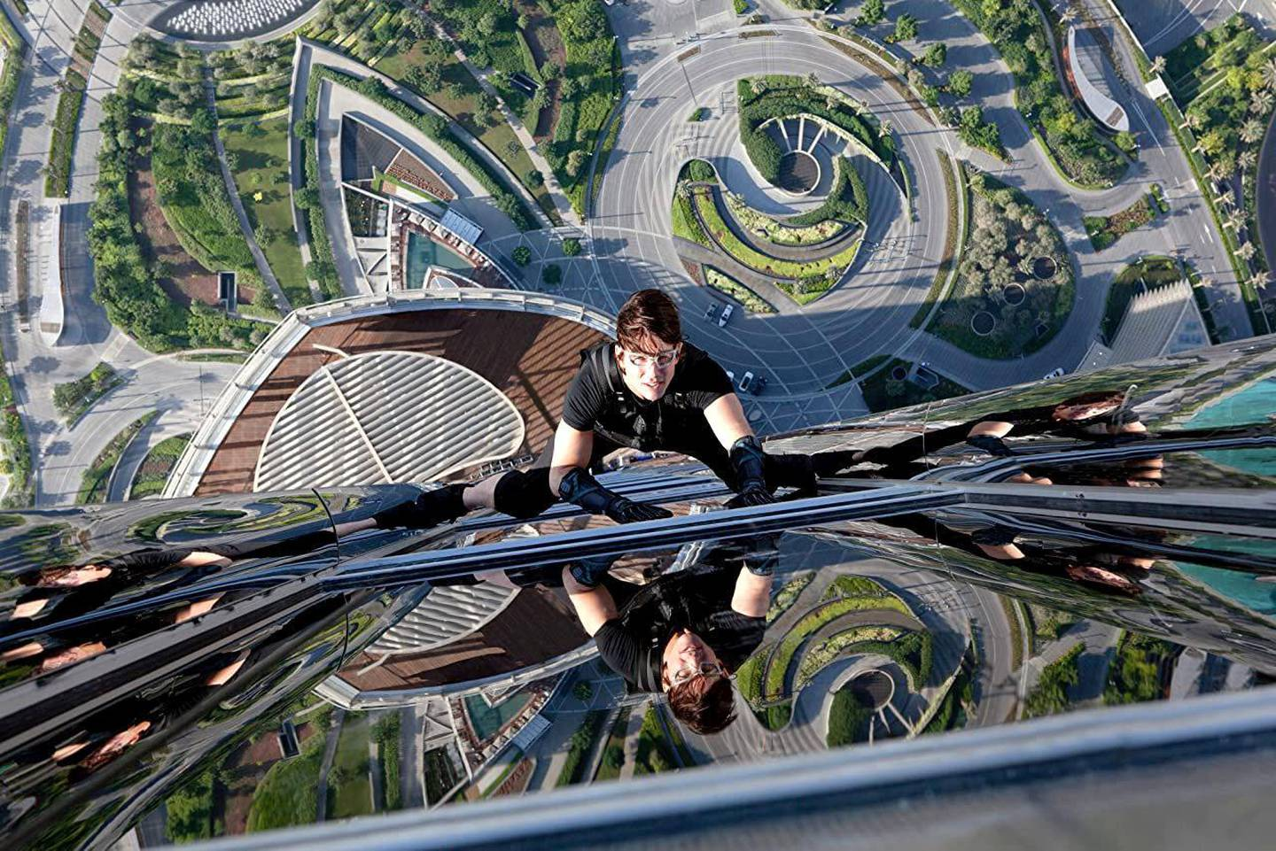 Tom Cruise in Mission: Impossible - Ghost Protocol (2011). credit Paramount pictures