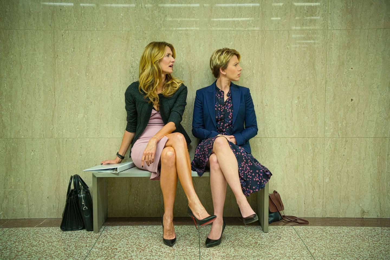Laura Dern and Scarlett Johansson in Marriage Story. Wilson Webb / Netflix