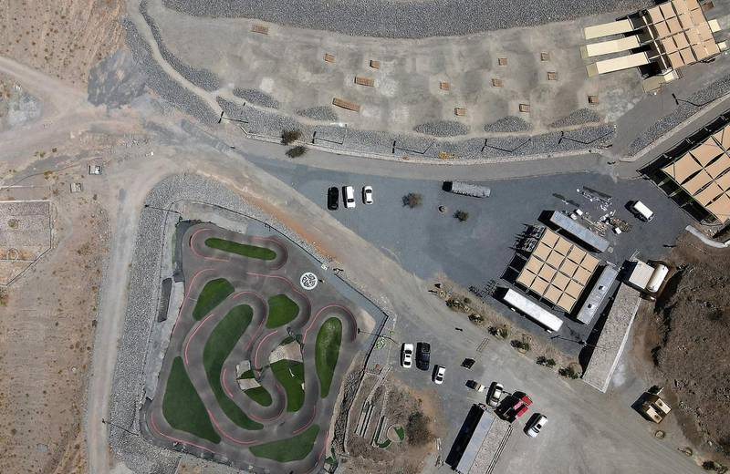 FUJAIRAH, UNITED ARAB EMIRATES , March 23, 2021 – View of the Fujairah Adventures Park in Fujairah. (Pawan Singh / The National) For Instagram/Online/ Lifestyle. Story by Janice Rodrigues