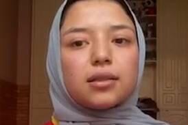Para-athlete Benafsha Najafi defying Taliban and calling for help