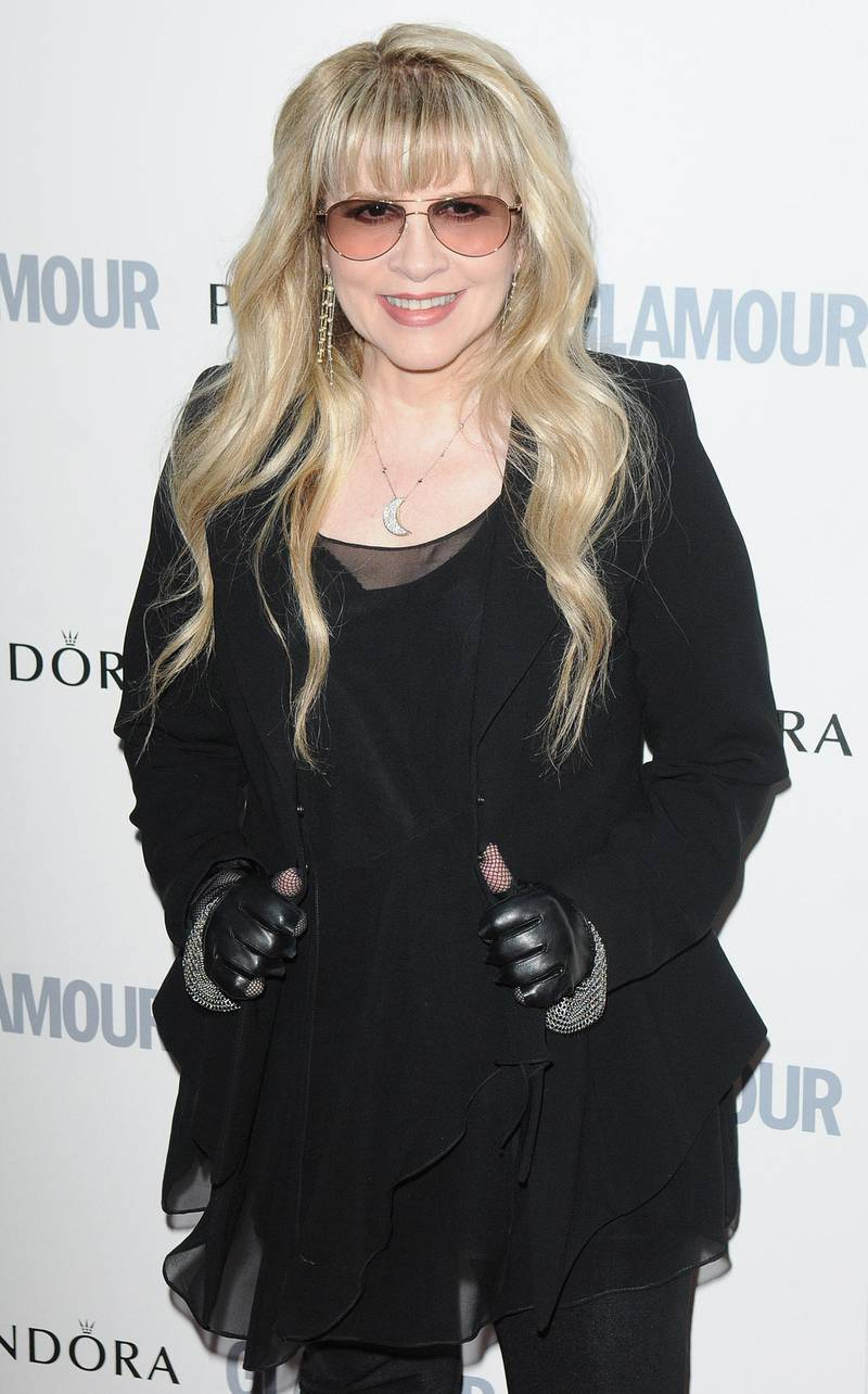 LONDON, UNITED KINGDOM - JUNE 07: Stevie Nicks attends Glamour Women Of The Year Awards  at Berkeley Square Gardens on June 7, 2011 in London, England. (Photo by Stuart Wilson/Getty Images) *** Local Caption ***  AL26NO-CROWNS-NICKS.jpg