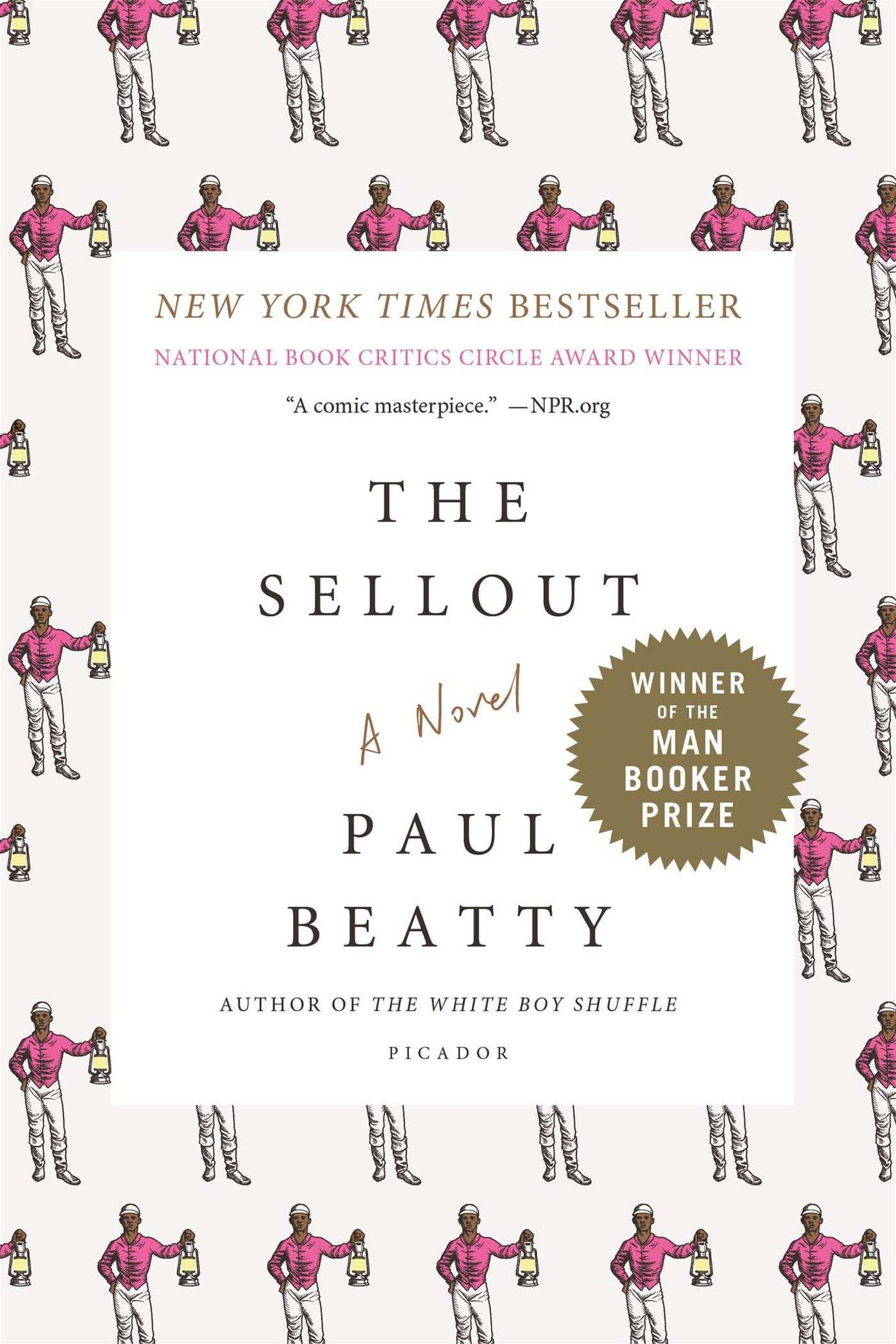 The Sellout by Paul Beatty. Courtesy Picador