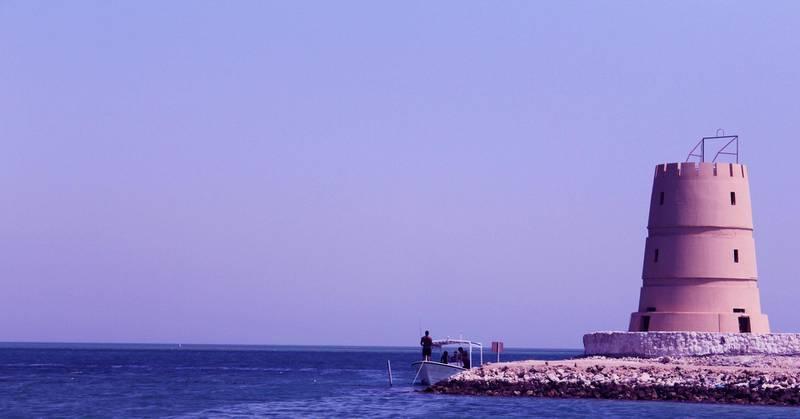 M5C0TK Al Dar Islands is a group of resort islands near Sitra, in the archipelago of Bahrain. Pic Taken on 12/07/2017. Alamy