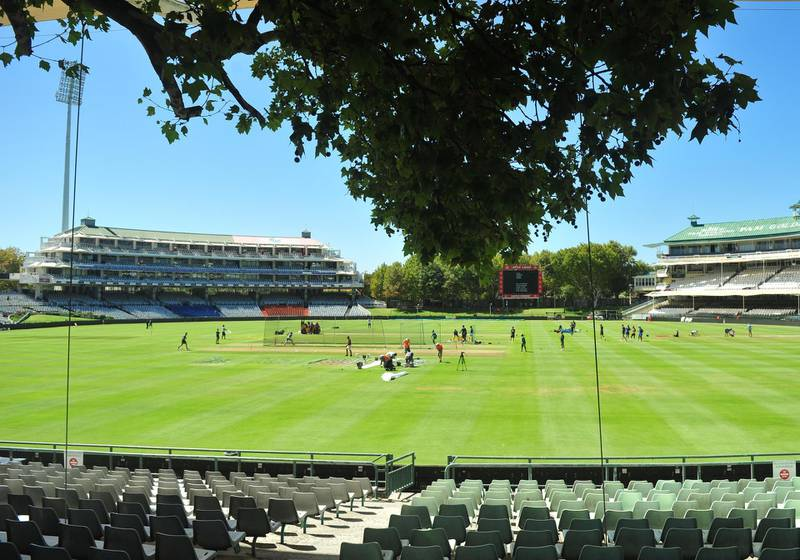 CAPE TOWN, SOUTH AFRICA - FEBRUARY 25: General view during the Australian national cricket team training session and press conference at Newlands Cricket Stadium on February 25, 2020 in Cape Town, South Africa. (Photo by Grant Pitcher/Gallo Images/Getty Images)
