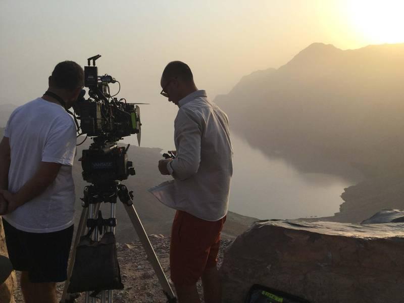 On the set of Scales. Courtesy Image Nation Abu Dhabi