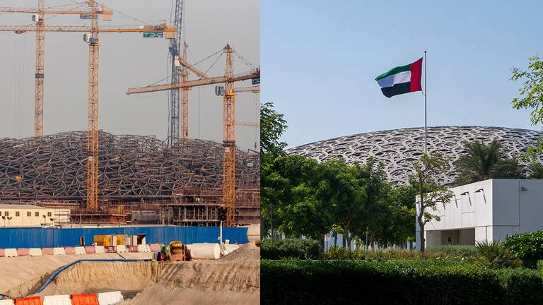 An image that illustrates this article UAE then and now: the rise of Louvre Abu Dhabi