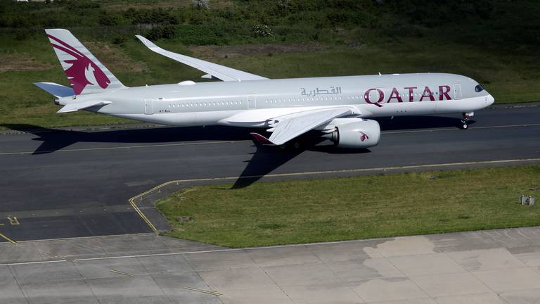 An image that illustrates this article Qatar Airways annual loss doubles to $4.1bn amid a 'challenging year'
