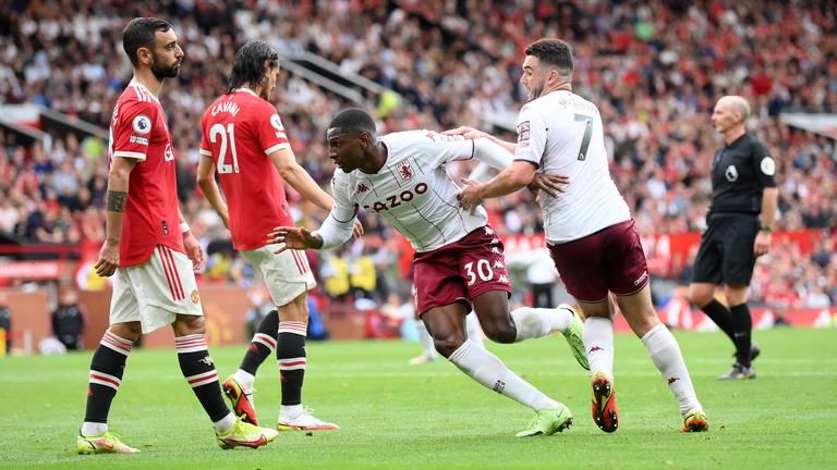 An image that illustrates this article Man United v Aston Villa ratings: Greenwood 7, Fernandes 6; McGinn 9