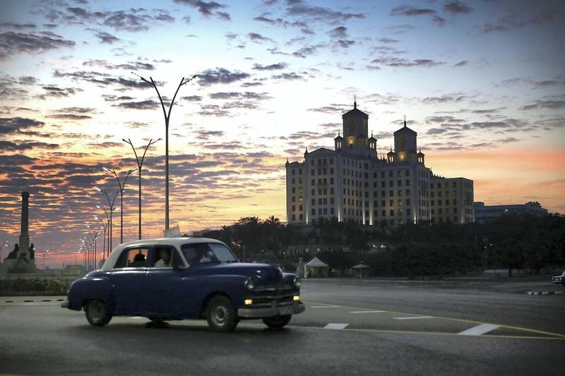 HAVANA, CUBA - MARCH 18:  The hotel Nacional is seen as Cuba prepares for the visit of U.S. president Barack Obama on March 18, 2016 in Havana, Cuba.  Mr. Obama's visit on March 20 - 22 will be the first in 90 years for a sitting American president.  (Photo by Joe Raedle/Getty Images)