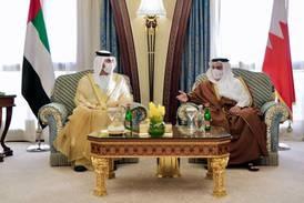 Sheikh Maktoum bin Mohammed arrives in Riyadh for Green Initiative Summit