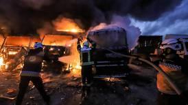 Renewed strikes in northern Syria threaten to stoke Turkey-Russia tensions