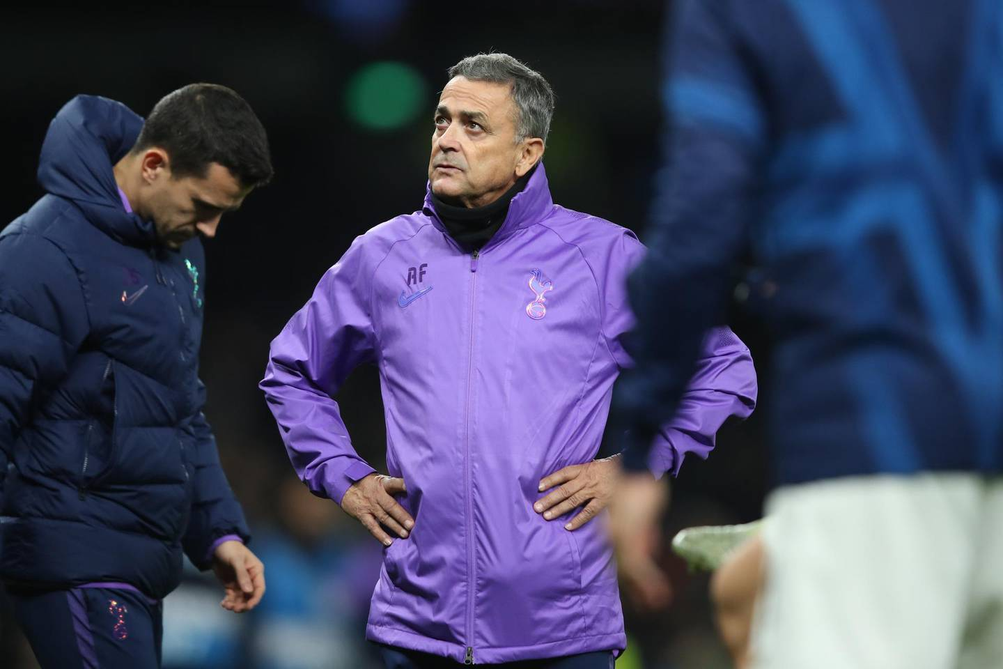 LONDON, ENGLAND - NOVEMBER 26: Tottenham Hotspur's assistant coach Ricardo Formosinho during the UEFA Champions League group B match between Tottenham Hotspur and Olympiacos FC at Tottenham Hotspur Stadium on November 26, 2019 in London, United Kingdom. (Photo by Marc Atkins/Getty Images)