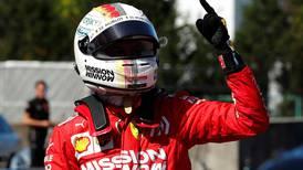 Sebastian Vettel leads Ferrari one-two in typhoon-delayed Japanese Grand Prix qualifying