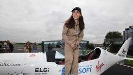Teenage pilot Zara Rutherford takes off on youngest round-world solo flight attempt
