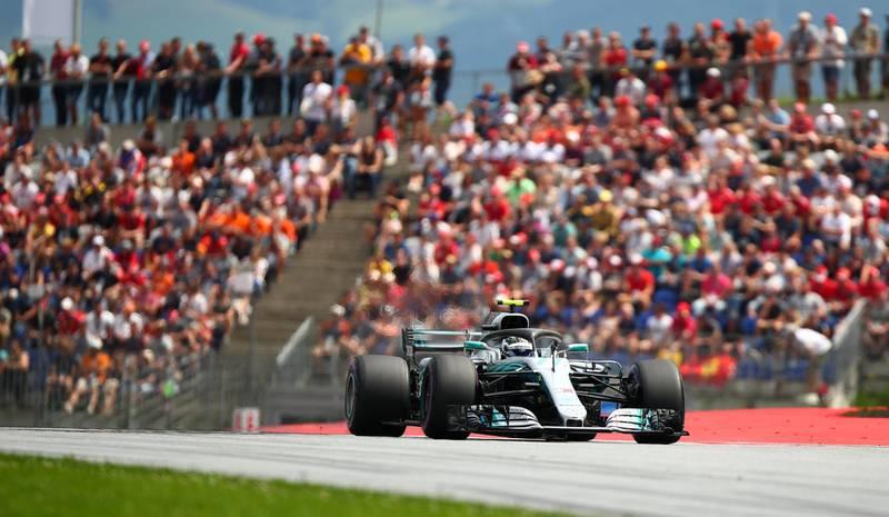 F1 Formula One - Austrian Grand Prix - Red Bull Ring, Spielberg, Austria - June 30, 2018   Mercedes' Valtteri Bottas in action during qualifying   REUTERS/Lisi Niesner