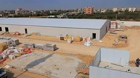 UAE-funded field hospital under construction in Gaza